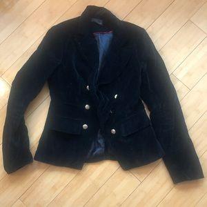 Forever 21 Jackets & Coats - Black Velvet Blazer Forever 21 Small